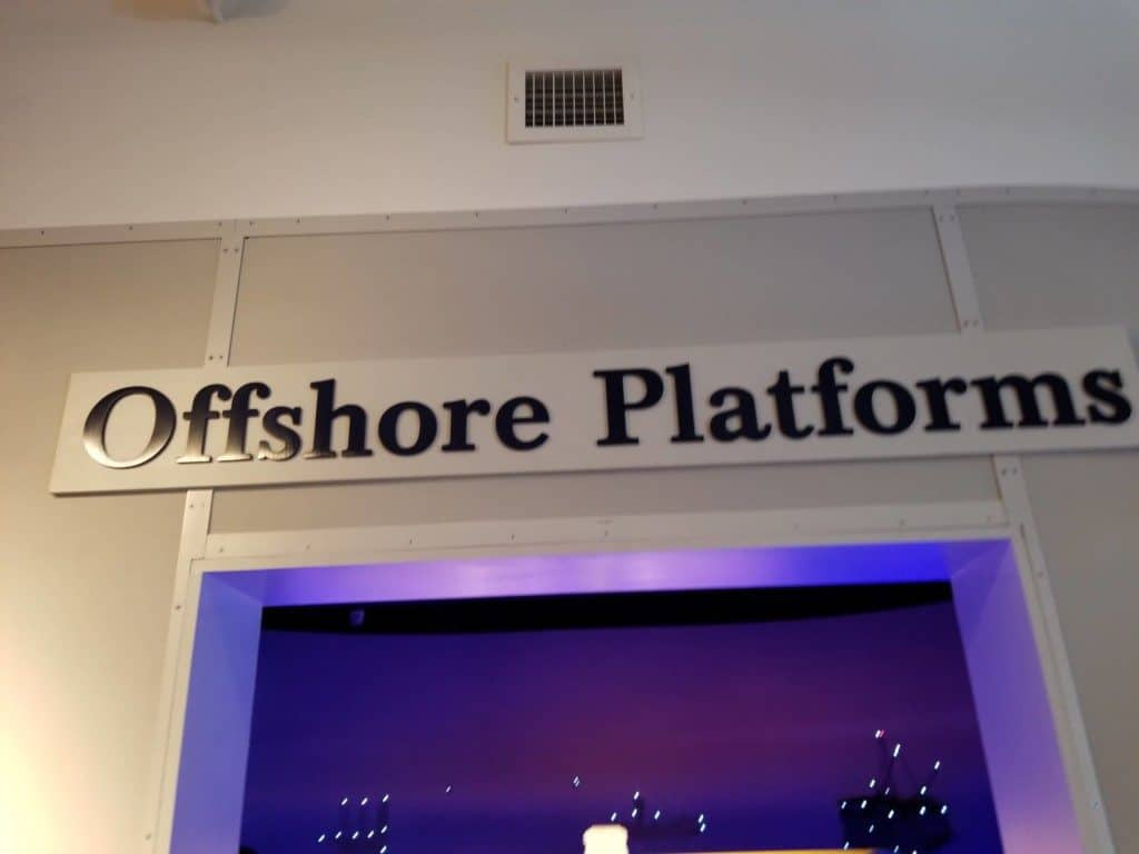 Gulf Quest offshore platforms exhibit
