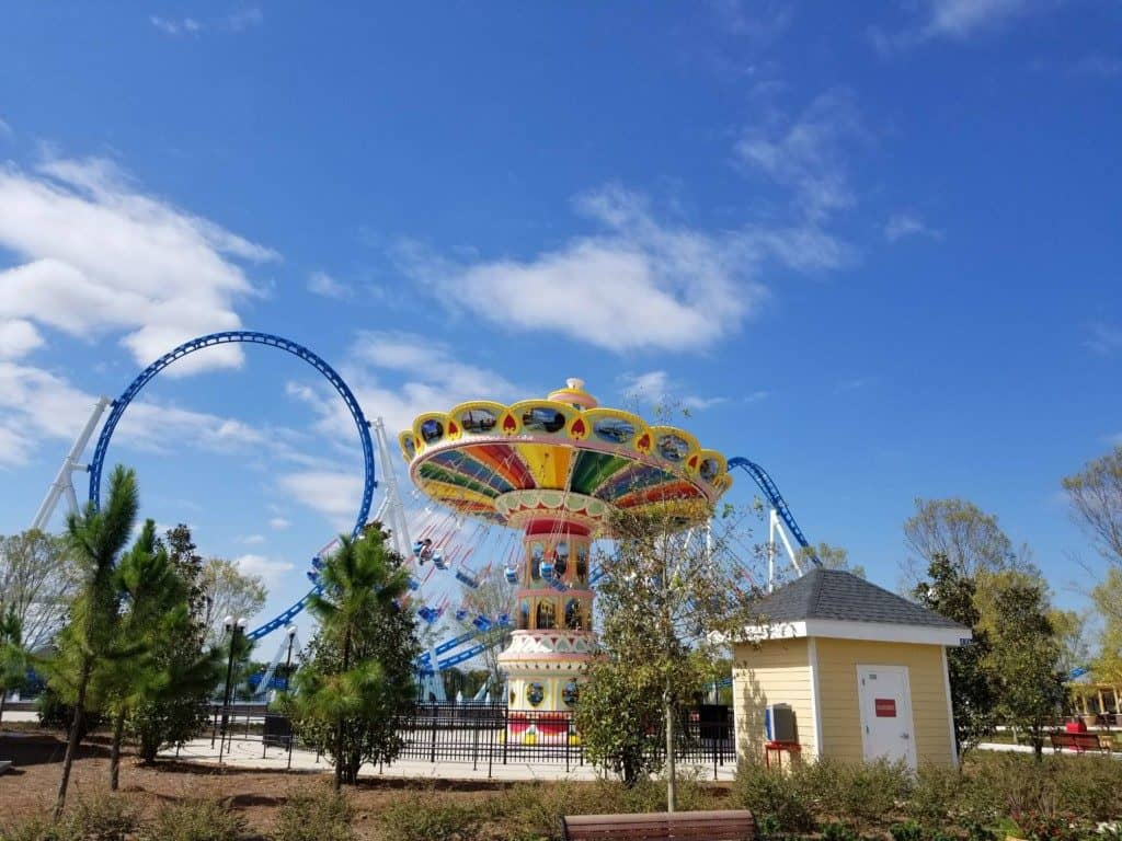 The Park at OWA Flying Carousel ride