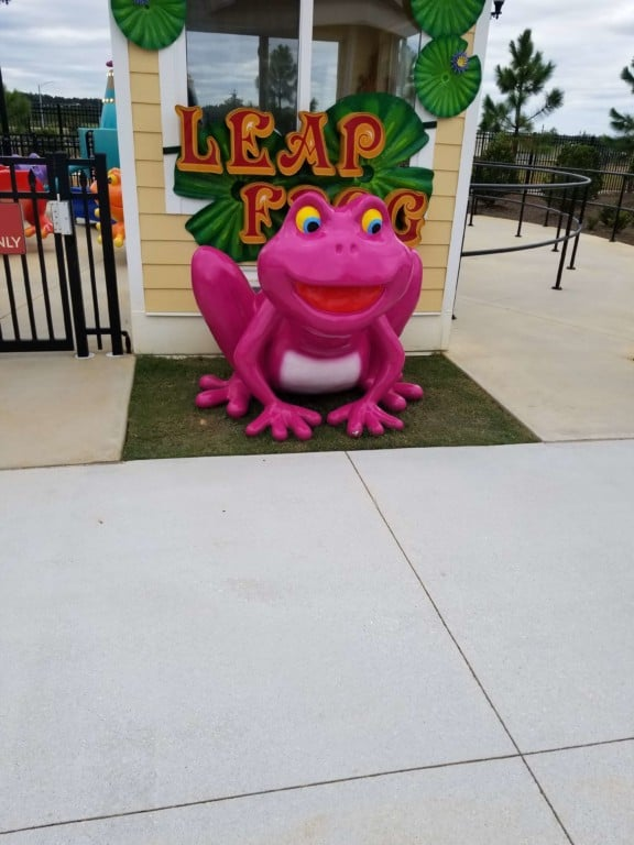 The Park at OWA Leap Frog ride entrance