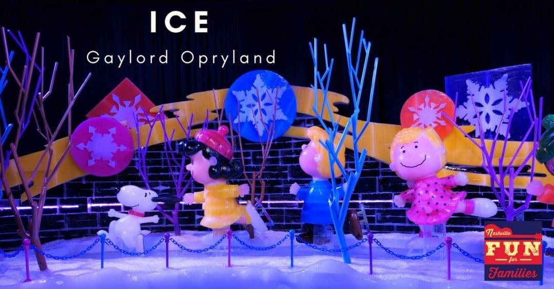 ICE! At Gaylord Opryland