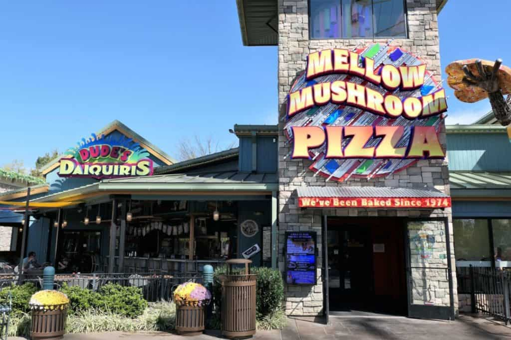 The Island in Pigeon Forge - Mellow mushroom