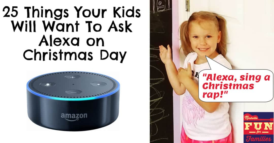 25 Things your kids will want to say to Alexa in 2018