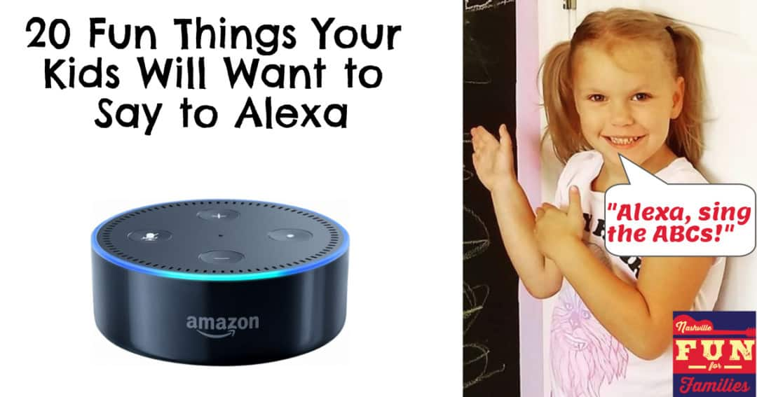 20 Fun things your kids will want to say to alexa