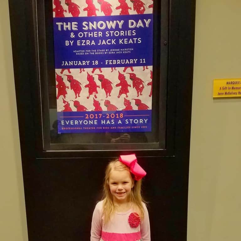 The Snowy Day at Nashville Children's Theatre - show poster