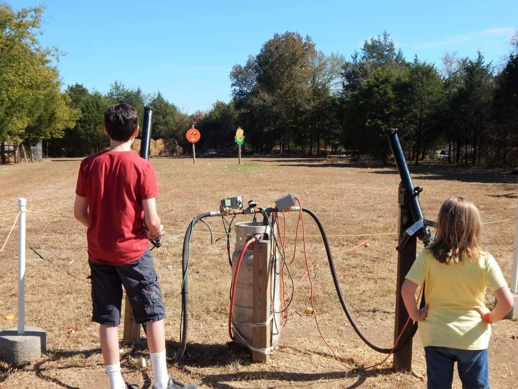 Lucky Ladd Farms - corn cannons