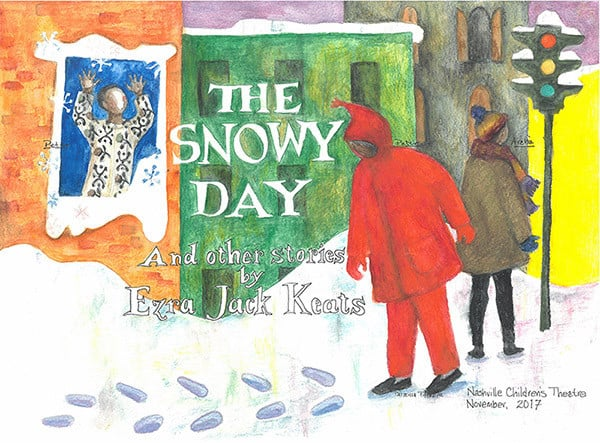 The Snowy Day at Nashville Children's Theatre - The Snowy Day book cover