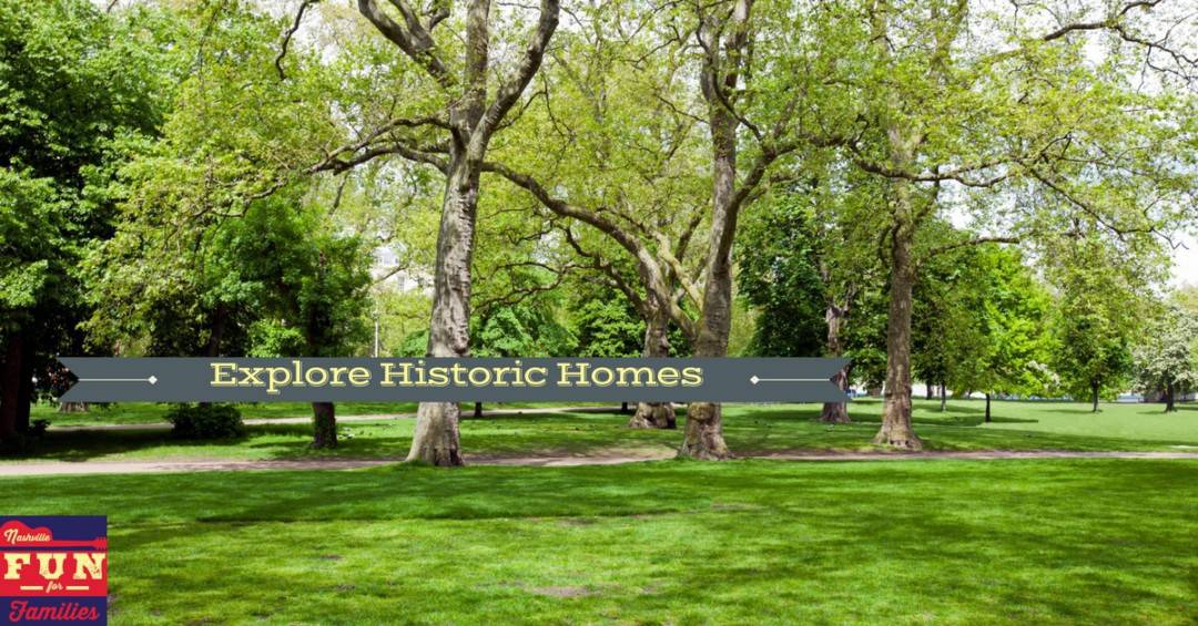 Explore Historic Homes in Middle Tennessee