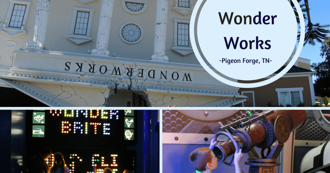 Wonder Works in Pigeon Forge, TN