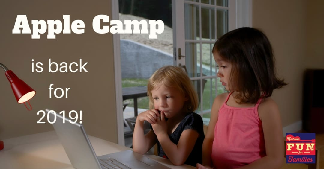 Nashville Family Fun Summer Guide - Sign Up for Free Apple Camps