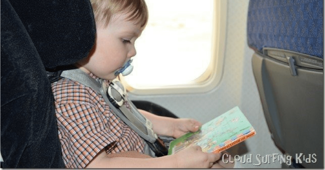 Flying in the summer with kids