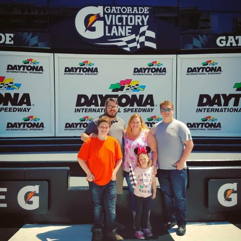 Daytona Speedway Victory Lane Photos