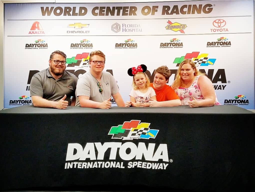 Daytona Speedway group photo