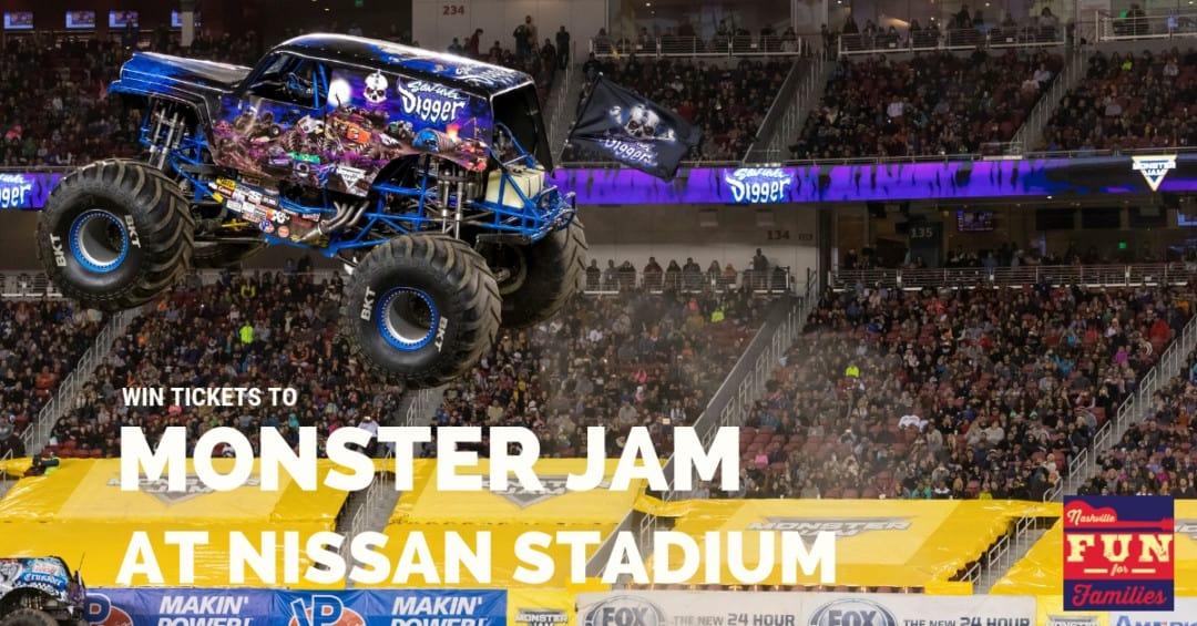 Win Tickets to Monster Jam at Nissan Stadium 2019