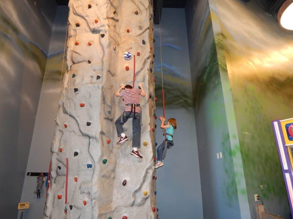 Wilderness at the Smokies - Adventure Forest indoor climbing