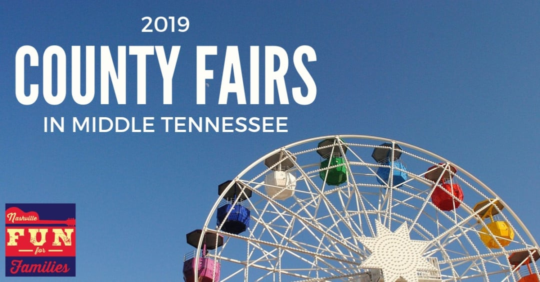 Middle Tennessee County Fairs