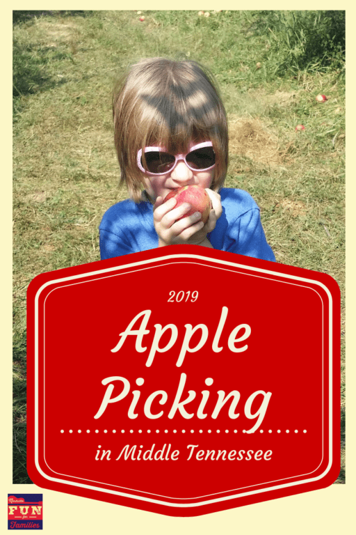 Apple Picking in Middle Tennessee - 2019 locations