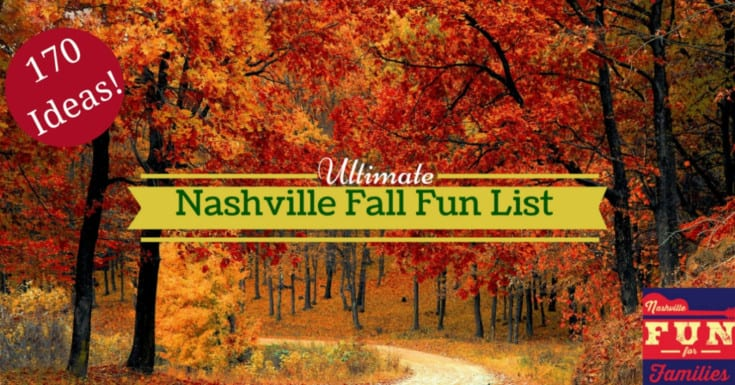 The Ultimate Nashville Fall Fun List