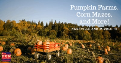 Middle Tennessee Pumpkin Patches, Corn Mazes and More!!!