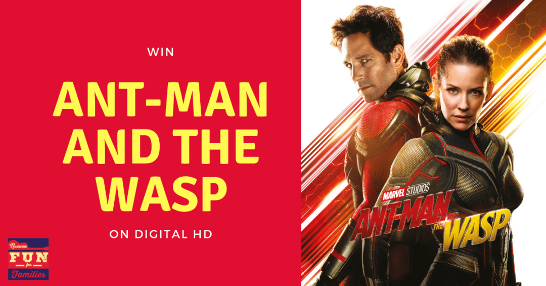 Win a Digital HD Copy of Ant-Man and The Wasp