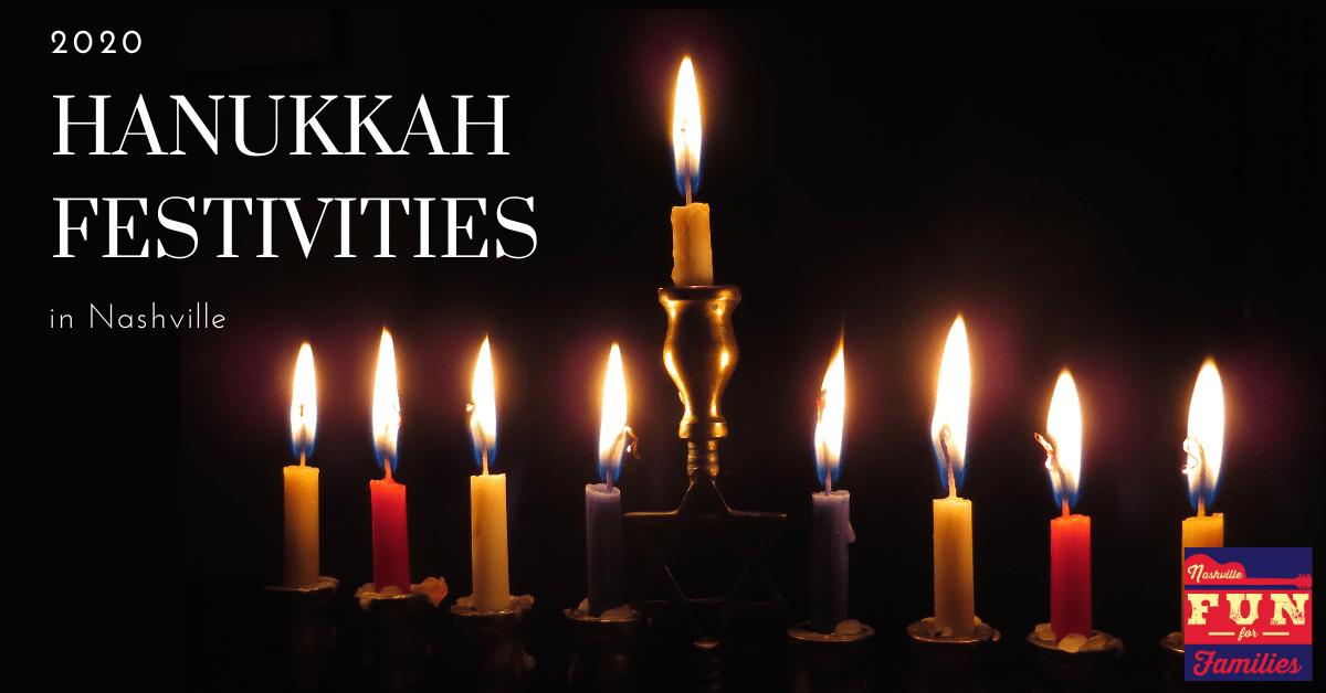 2020 Hanukkah Festivities in Nashville