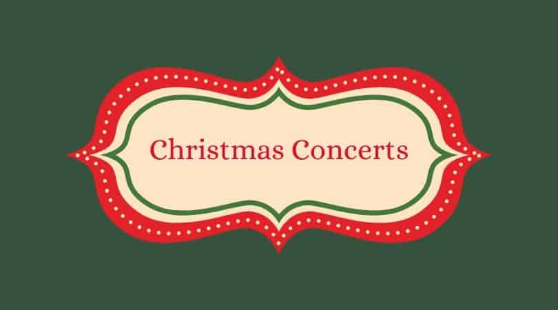 Christmas & Holiday Concerts