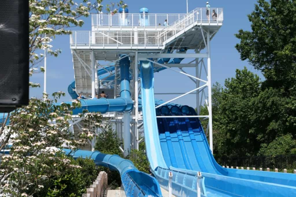 Soundwaves outdoor slides