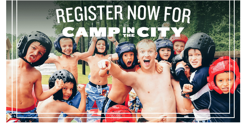 Camp in the City - register now