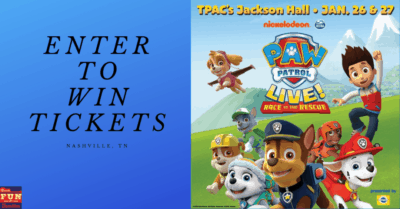 Win Tickets to PAW Patrol Live in Nashville