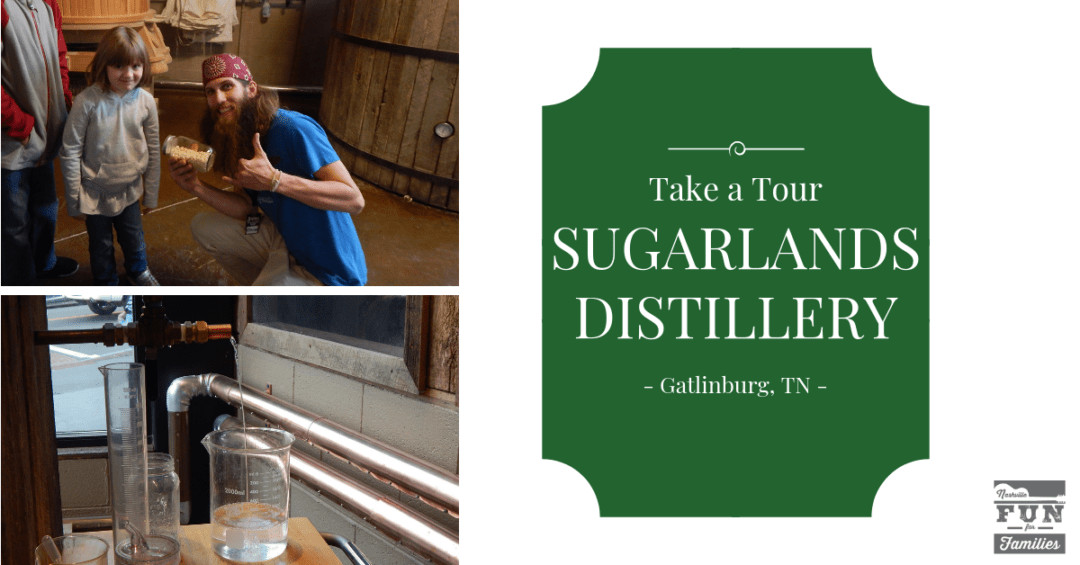 Sugarlands Distillery tour