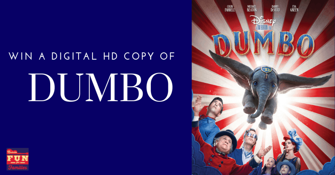 Win a Digital HD Copy of Dumbo