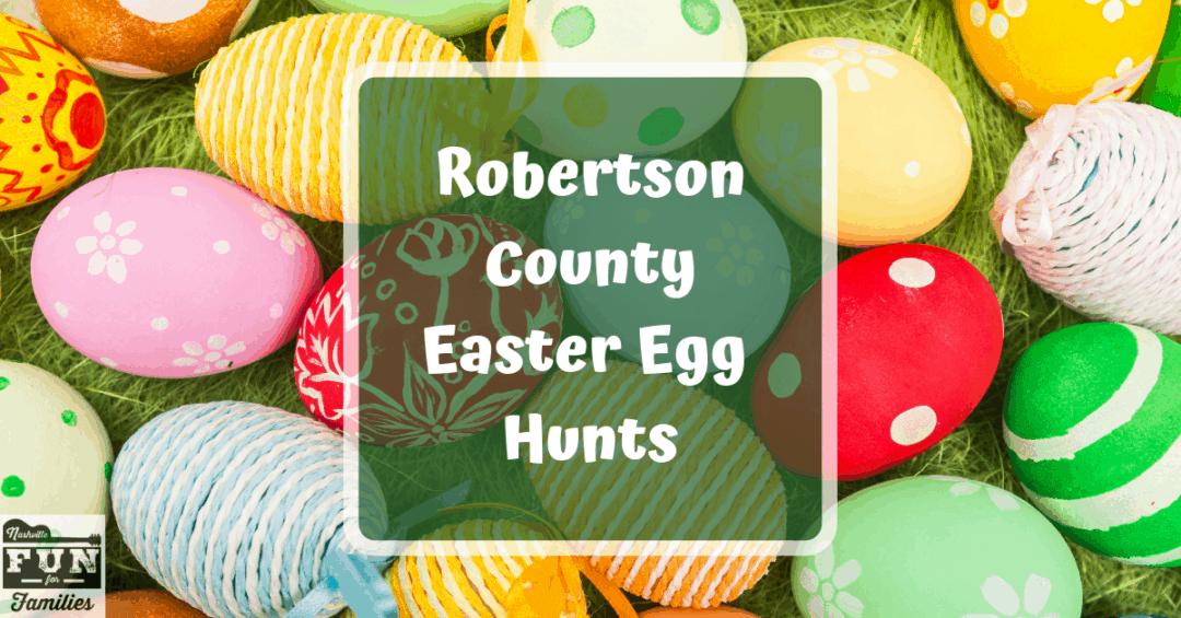 Robertson County Easter Egg Hunts