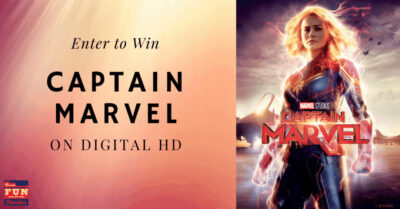Enter to Win a Digital HD Copy of Captain Marvel