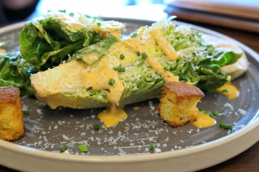 JW Marriott caesar salad