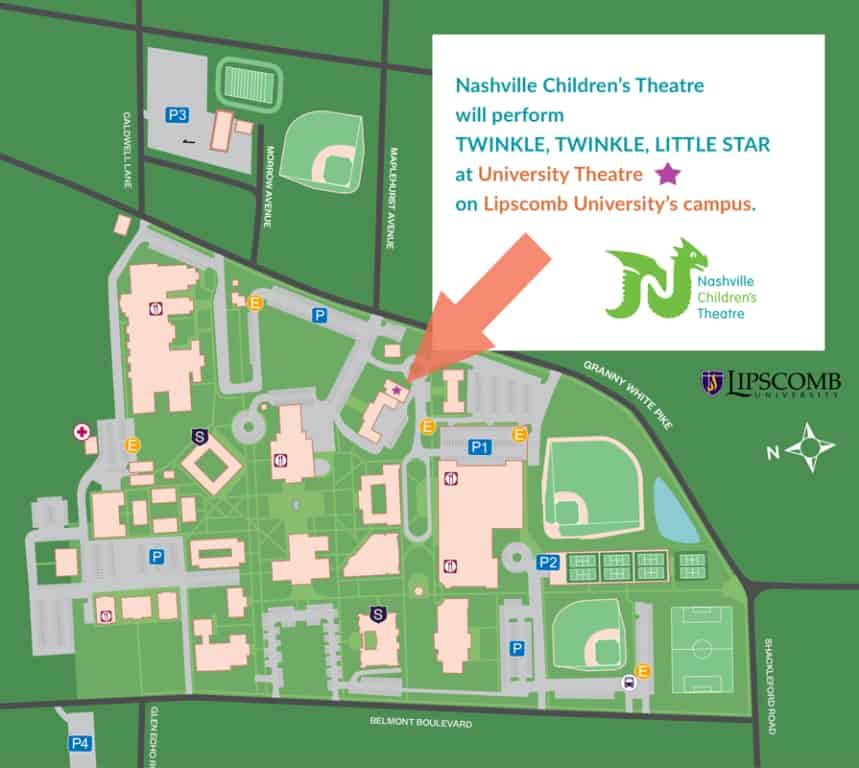 lipscomb university campus map Twinkle Twinkle Little Star At Lipscomb University Nashville lipscomb university campus map