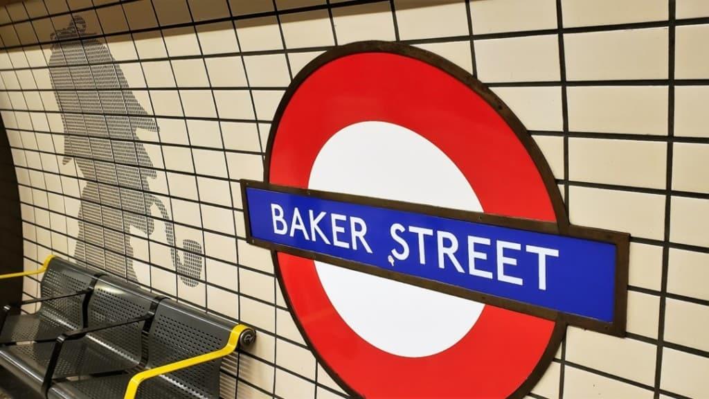 Baker Street Tube station.
