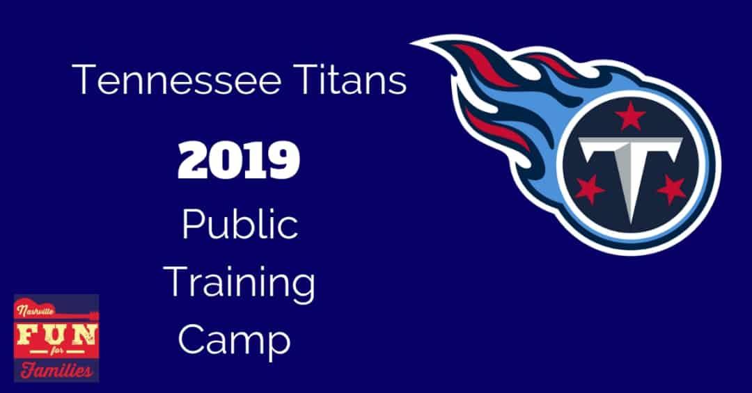 2019 Tennessee Titans Public Training Camp