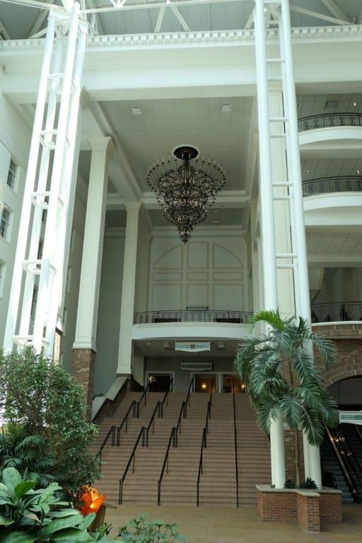 Delta chandelier