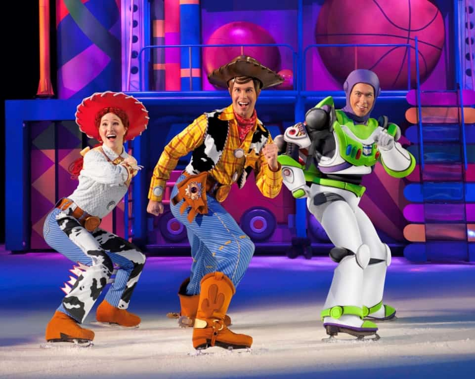 Woody and Buzz on Ice