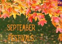 September Fall Festivals