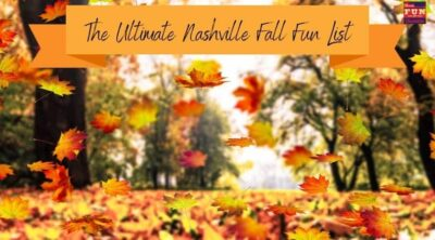 The Ultimate Nashville Fall Fun List