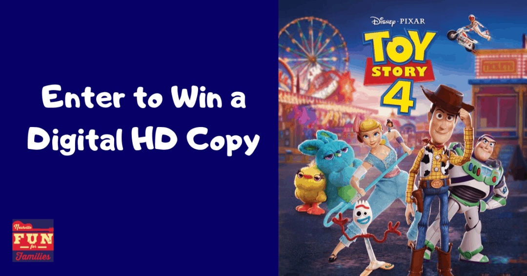 Enter to Win a Digital Copy of Toy Story 4