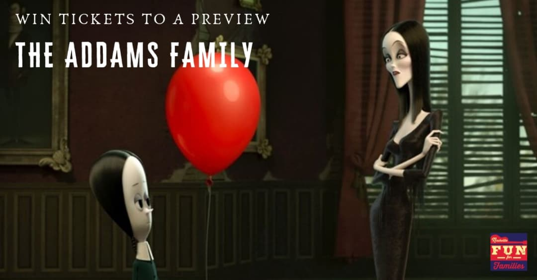 Win tickets to a preview of The Addams Family