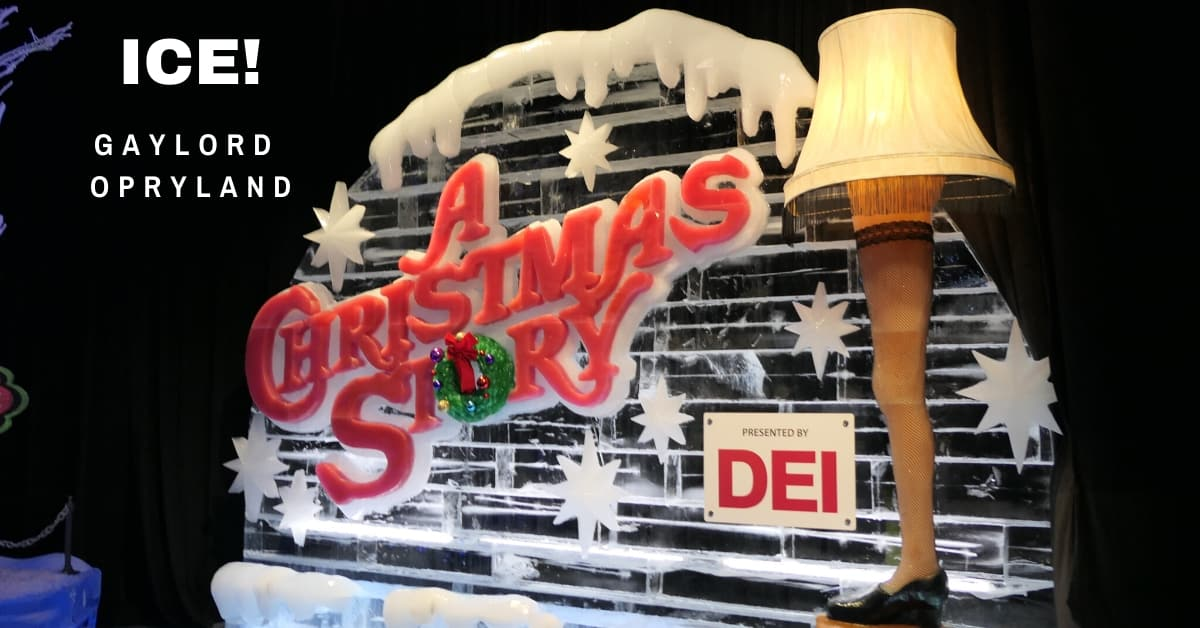 ICE at Gaylord Opryland - A Christmas Story