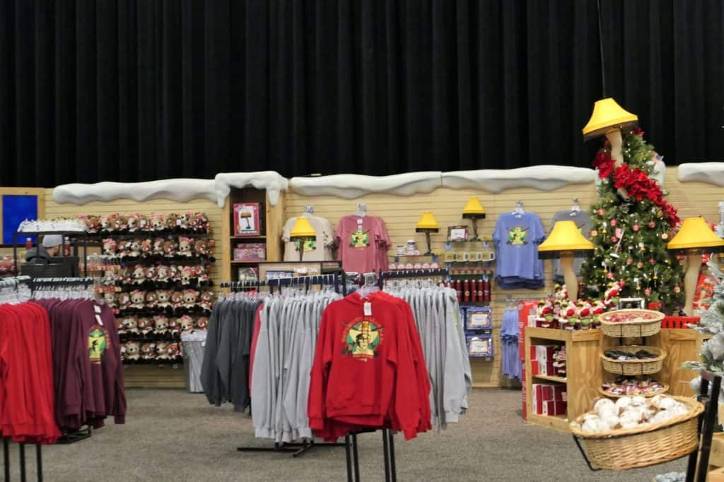 2019 ICE gift store with plenty of leg lamps for sale