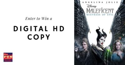 Enter to Win a Digital HD Copy of Maleficent: Mistress of Evil