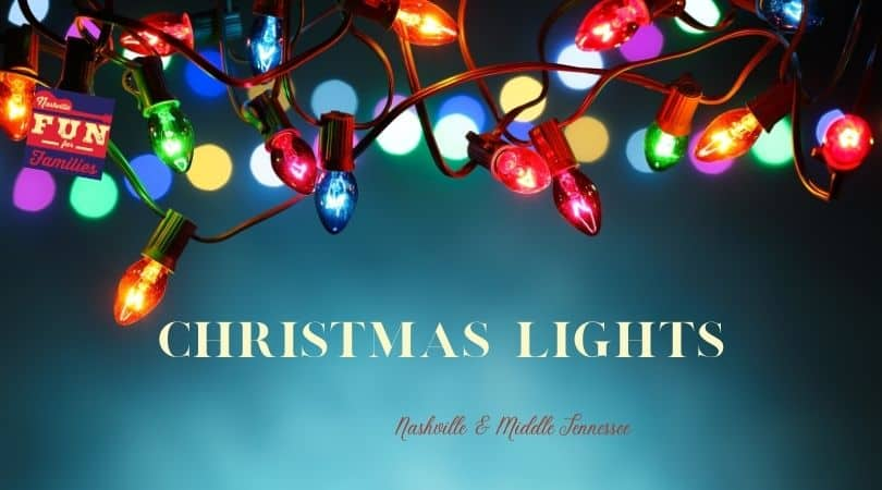 Christmas Light Displays in Nashville & Middle Tennessee