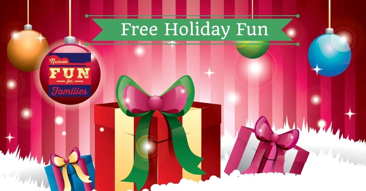 2020 Free Christmas and Holiday Fun Family Events in Nashville, TN