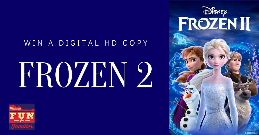 Frozen 2: Enter to Win a Digital Copy