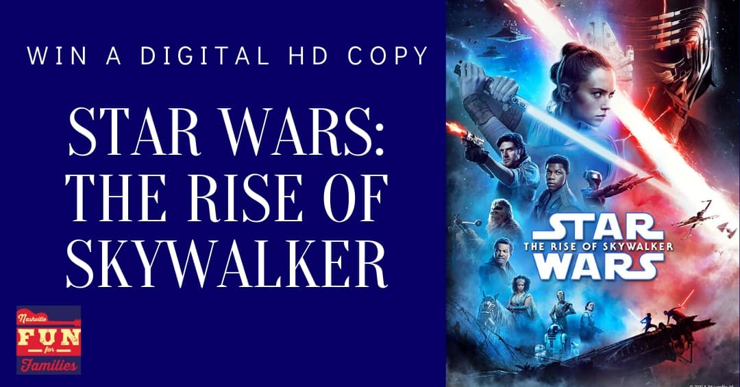 Win a Digital Copy of Star Wars: The Rise of Skywalker