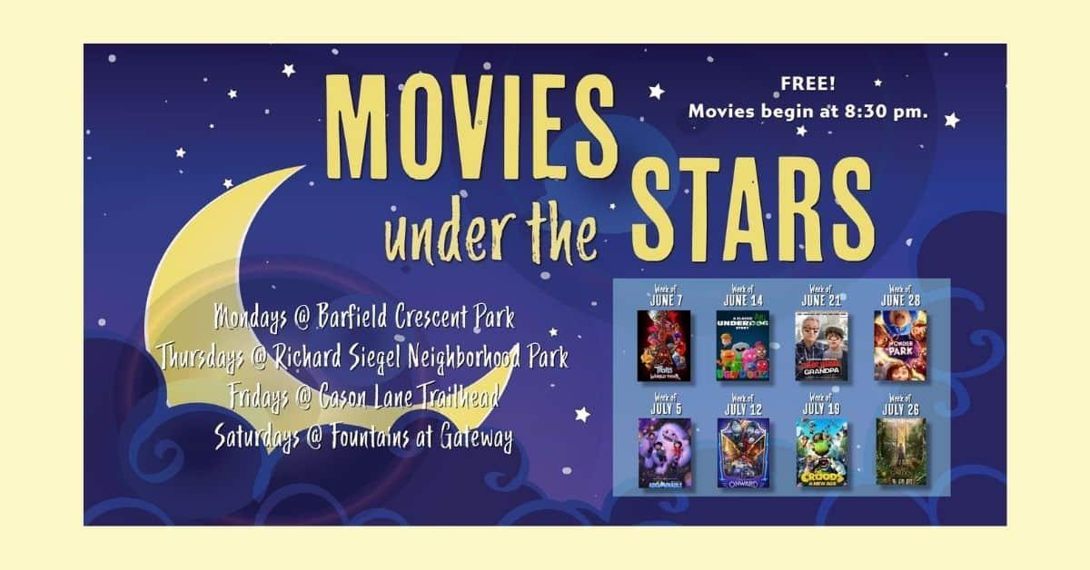 Movies under the stars murfreesboro